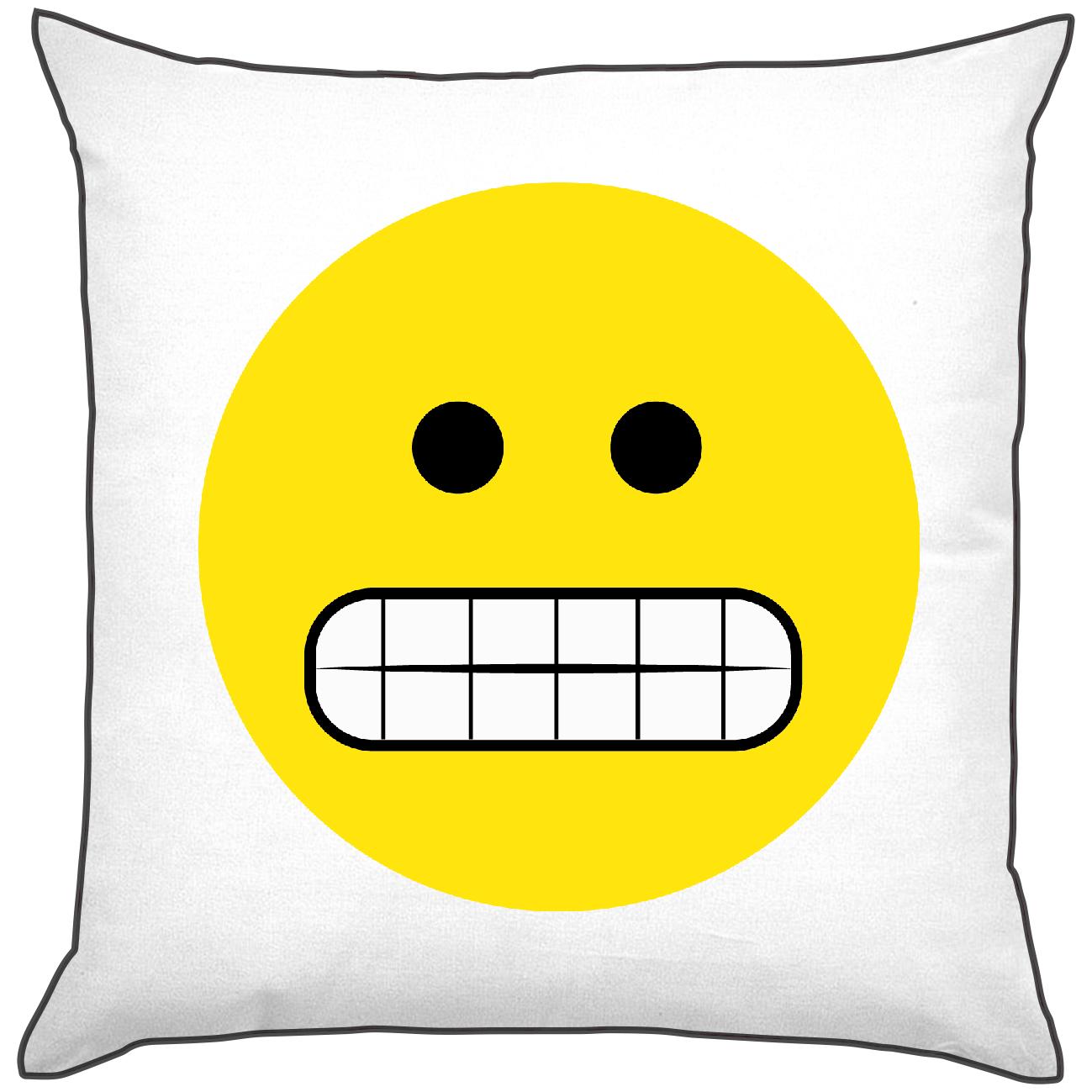 Cuscini Emoticon.Cuscini Poliestere E Cotone Smile Risatona Mycustomstyle