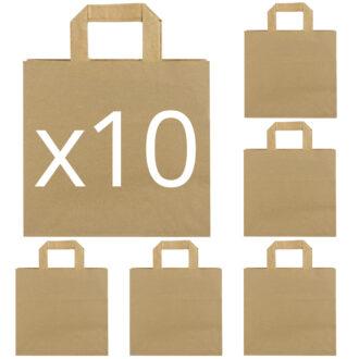 "10 ""Carta Kraft 26x25x17 Avana"""