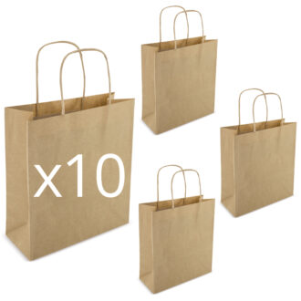 "10 ""Carta Kraft 22x23x10 Avana"""