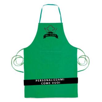 """- 1 pezzo """"Verde Smeraldo Poliestere-Cotone"""""""
