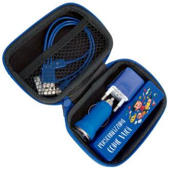 """-1 """"Kit azzurro 2200mhA"""""""